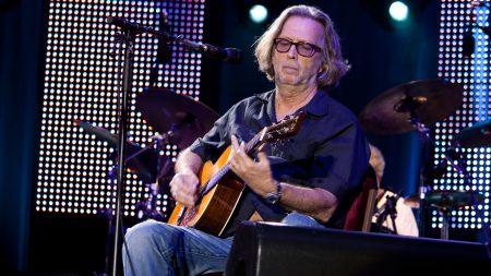 eric clapton, guitar, show