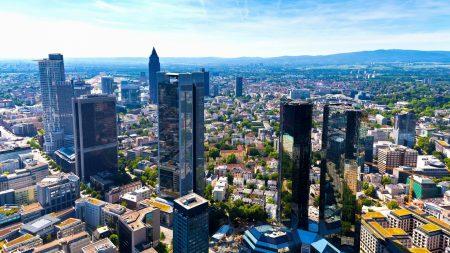 germany, frankfurt am main, metropolis