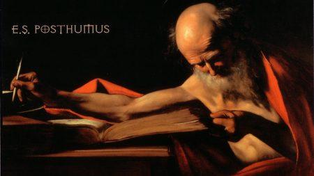 es posthumus, man, book