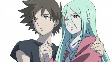 eureka seven, boy, girl