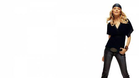 eva padberg, blonde, jeans