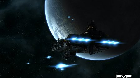 eve online, planet, space