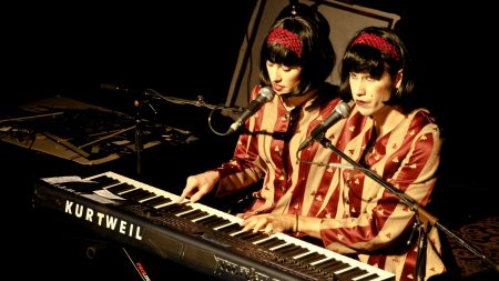 evelyn evelyn, brunettes, synthesizer