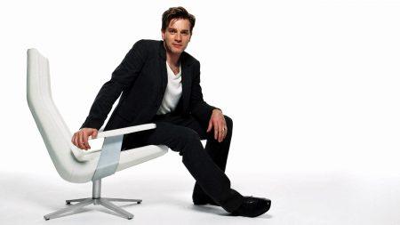 ewan mcgregor, chair, jacket