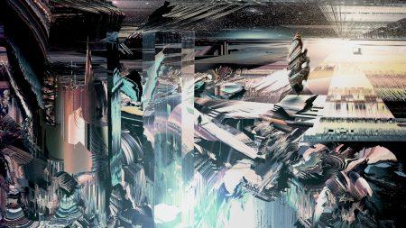 explosion, background, dark