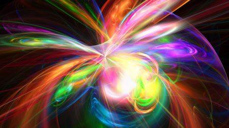 explosion, rainbow, colorful