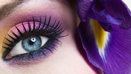 eye, lashes, girl