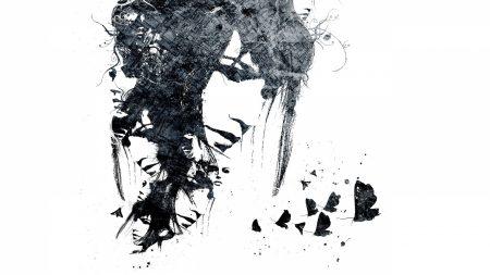 face, paint, look