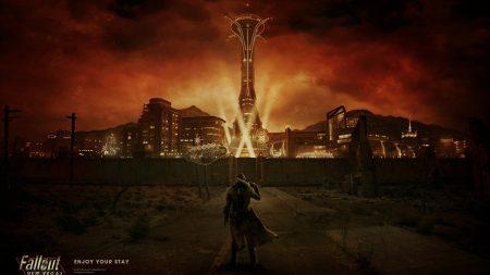 fallout, city, light