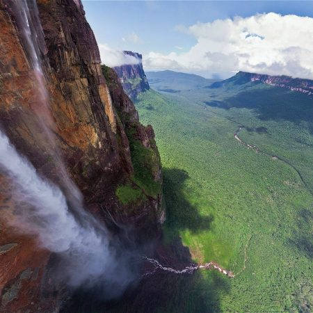 falls, height, rock