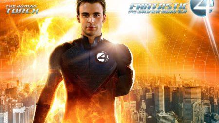 fantastic 4, chris evans, human torch