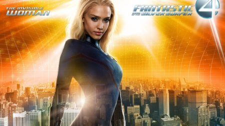fantastic 4, jessica alba, invisible woman