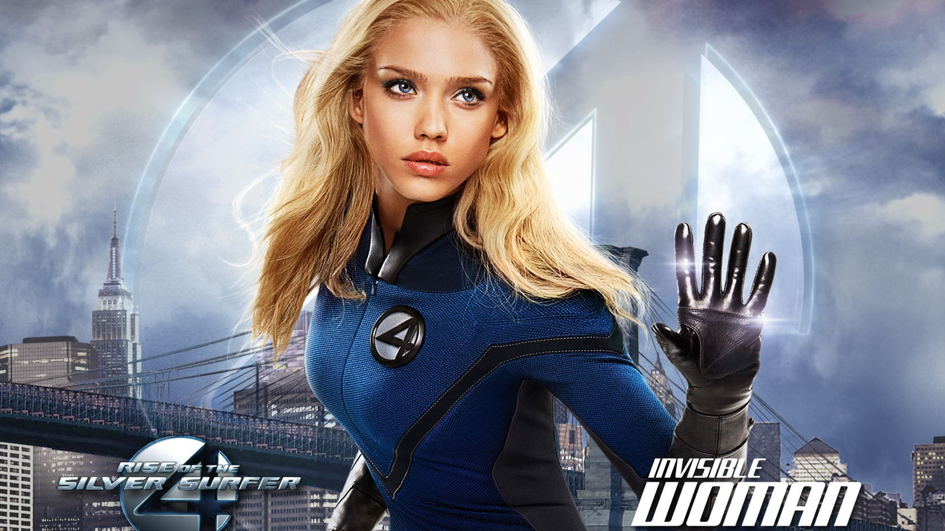 Download Wallpaper 1920x1080 Fantastic 4 Rise Of The Silver