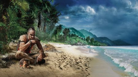 far cry 3, beach, game