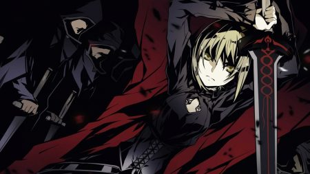 fate stay night saber alter, girl, sword