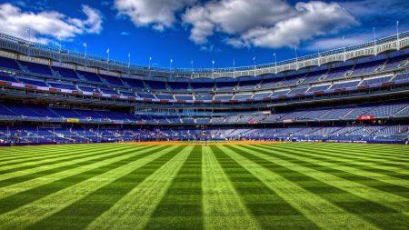 field, football, tribunes
