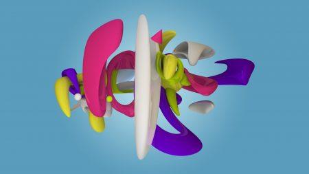 figure, multi-colored, form