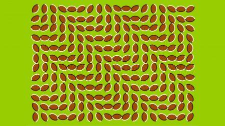 figure, optical illusion, motion
