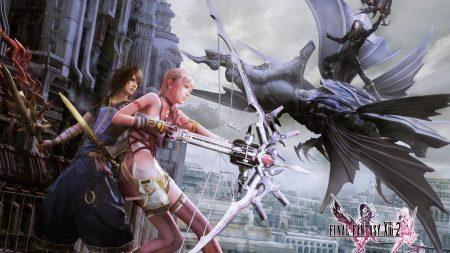 final fantasy xiii 2, girl, bow