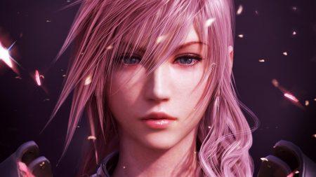 final fantasy xiii, girl, face