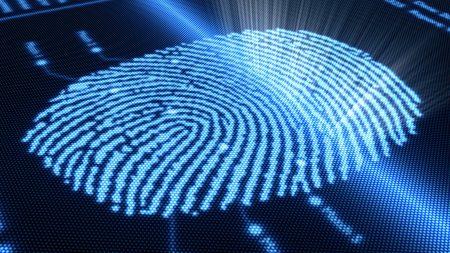 fingerprint, finger, electronics