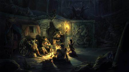 fire, cauldron, gharry