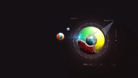firefox, google, system