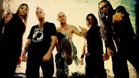 five finger death punch, tattoo, dreadlocks