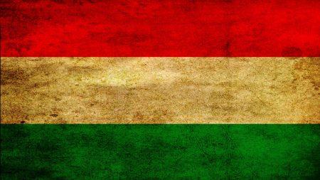 flag, stripes, hungary