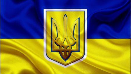 flag, ukraine, trident