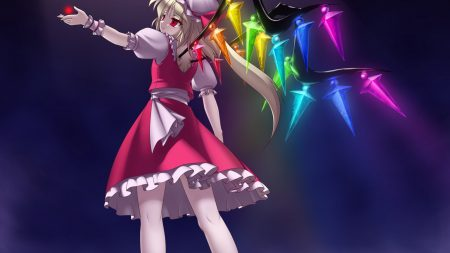 flandre scarlet, girl, dress