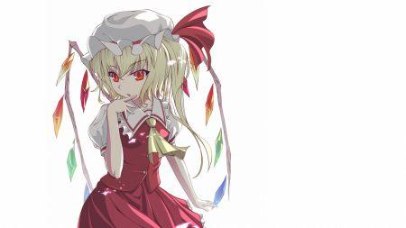 flandre scarlet, girl, wings