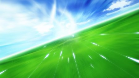 flight, movement, green