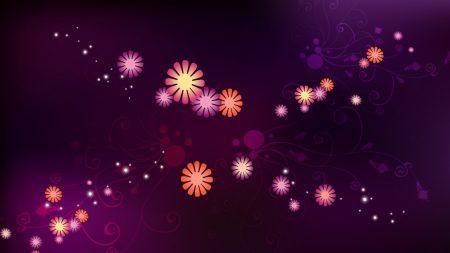flower, background, set