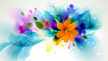 flower, bright, colorful