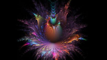 flower, pattern, light