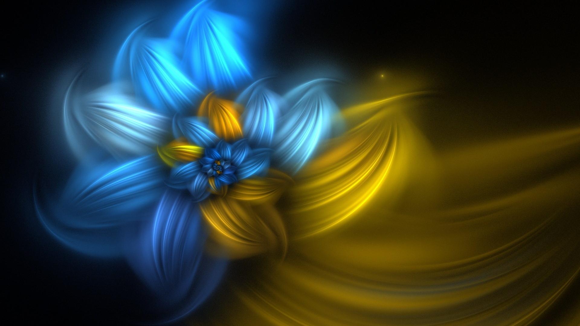 flower, spiral, paint