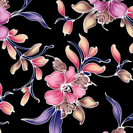 flowers, background, dark