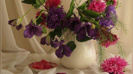 flowers, bouquet, bud