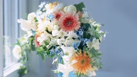 flowers, bouquet, buds