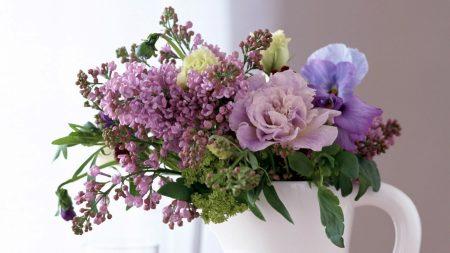 flowers, bouquet, lilacs