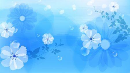 flowers, bright, spots