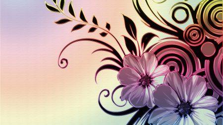 flowers, drawings, patterns