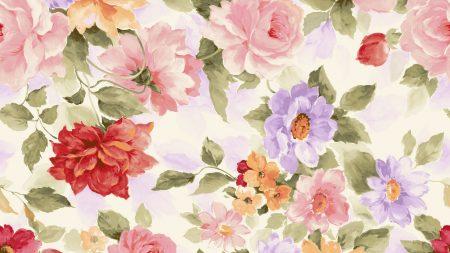 flowers, light, background