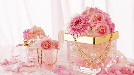 flowers, pink, capsule