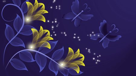 flowers, purple, background