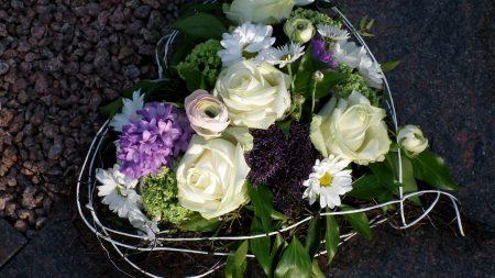 flowers, wreath, roses