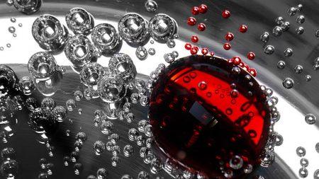 form, drops, liquid