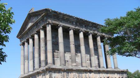 fortress, historic and architectural complex of garni, armenia
