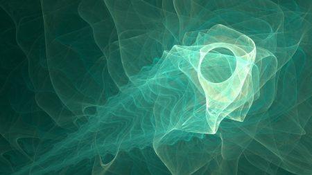 fractal, shape, smoke